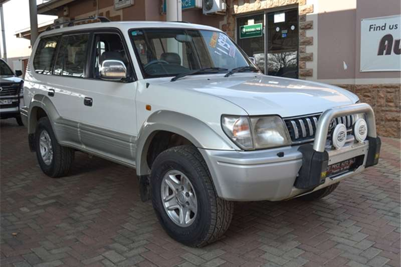 Toyota Land Cruiser Prado 3.4 VX 4x4 8S AT 1999
