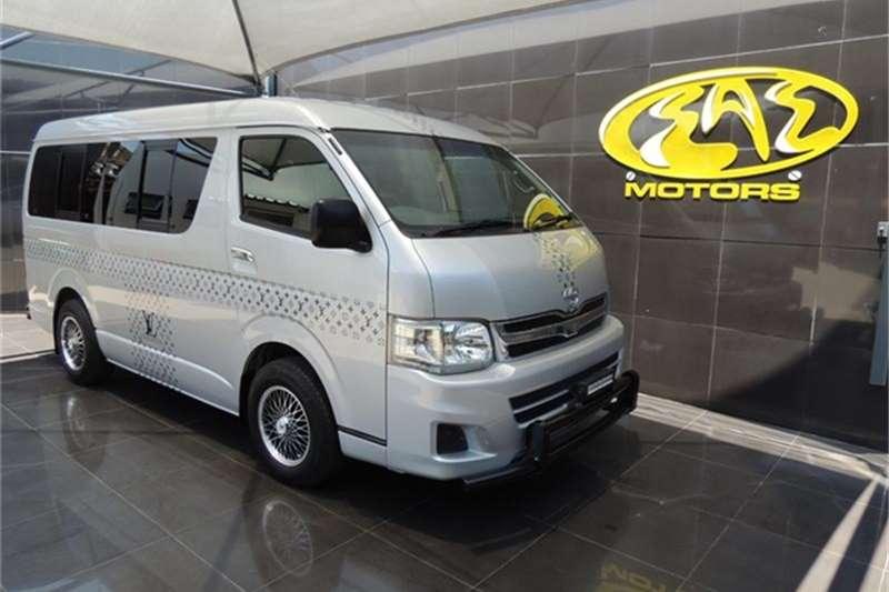 Toyota Quantum 2.5D 4D GL 10 seater bus 2011