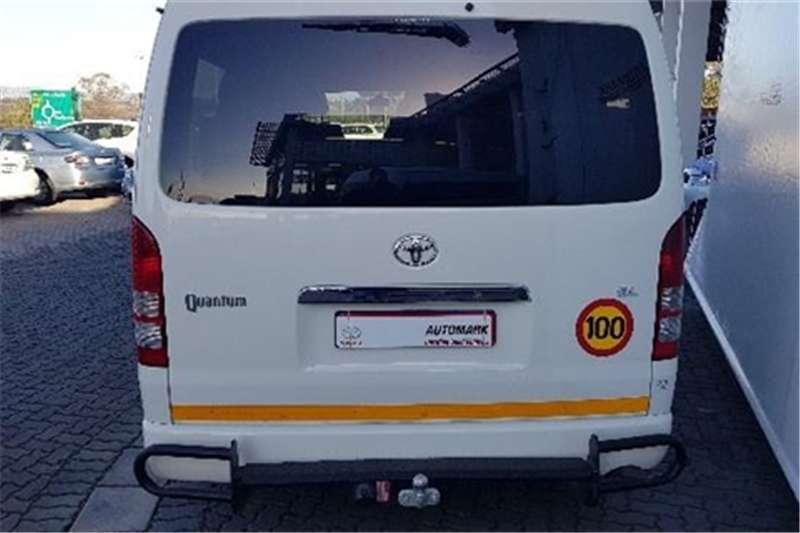 Toyota Quantum 2.5D-4D GL 10-seater bus 2016