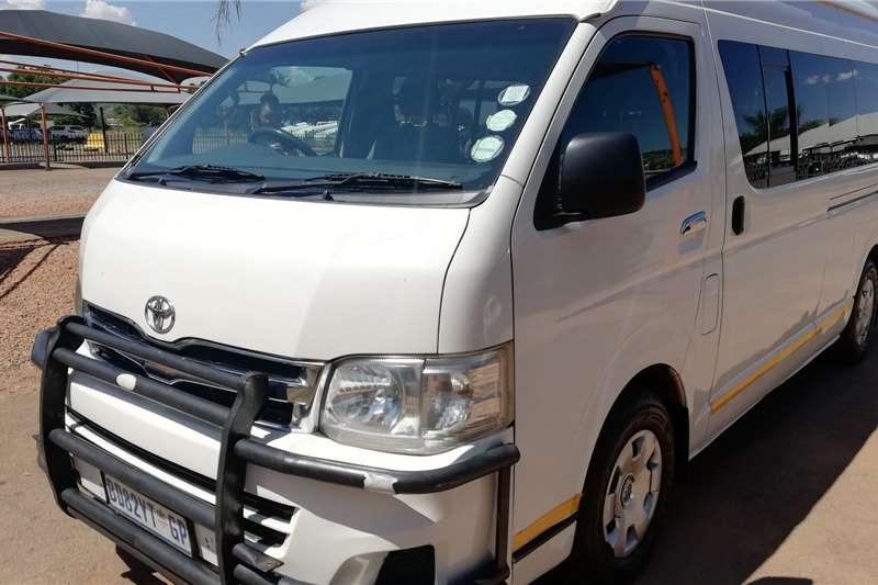 Toyota Quantum 2.5D 4D GL 14 seater bus 2011