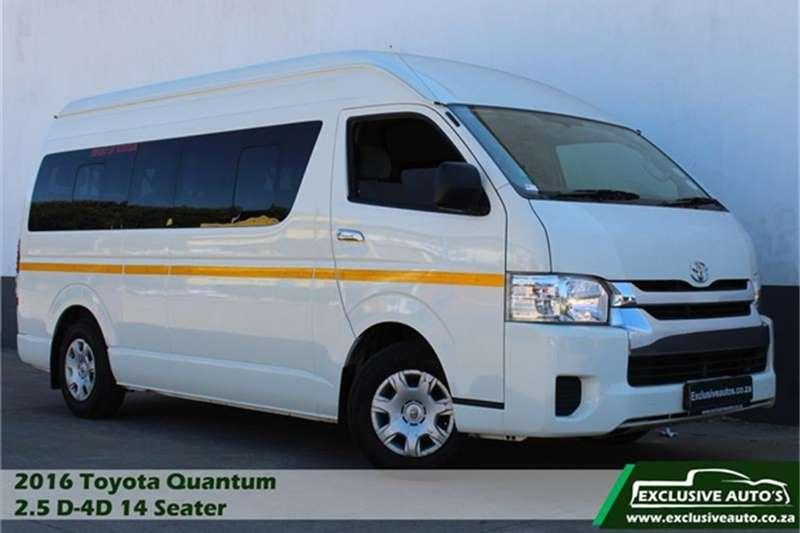 Toyota Quantum 2.5D 4D GL 14 seater bus 2016