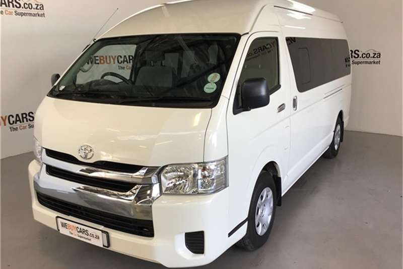 Toyota Quantum 2.5D 4D GL 14 seater bus 2018