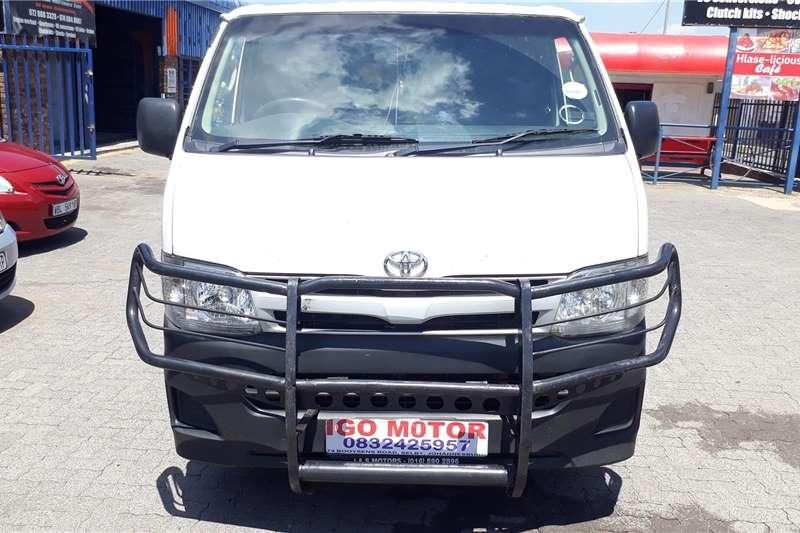 Toyota Quantum 2.5D 4D LWB panel van 2013