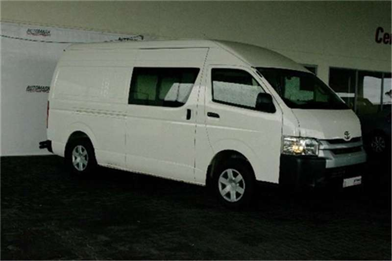 Toyota Quantum 2.5D 4D S Long panel van 2015
