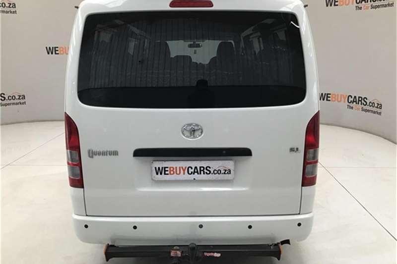 Toyota Quantum 2.7 crew cab 2014