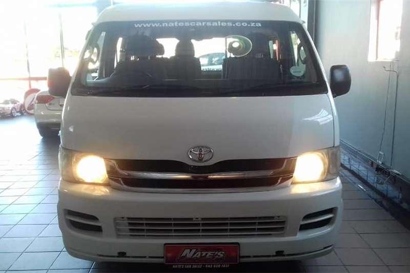 Toyota Quantum 2.7 GL 10 seater bus 2007