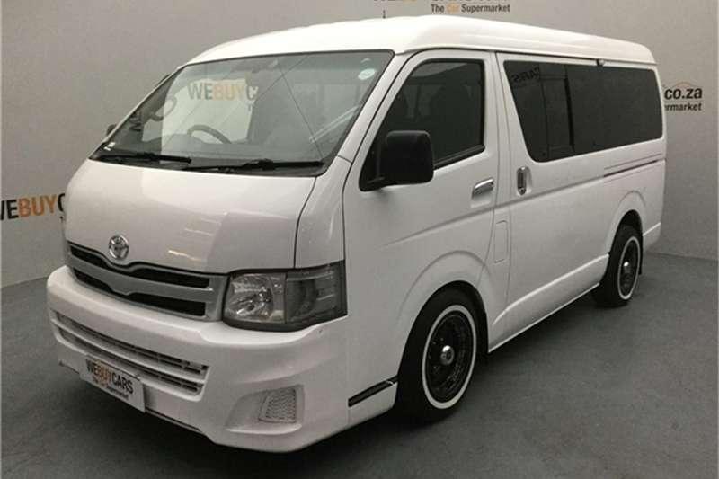 Toyota Quantum 2.7 GL 10-seater bus 2013