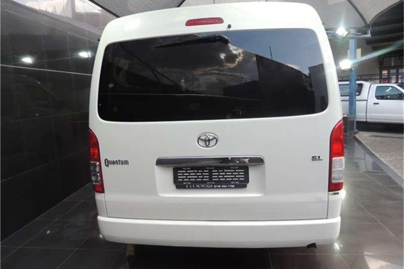Used 2013 Toyota Quantum 2.7 GL 10 seater bus