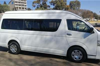 Toyota Quantum 2.7 GL 14 seater bus 2014