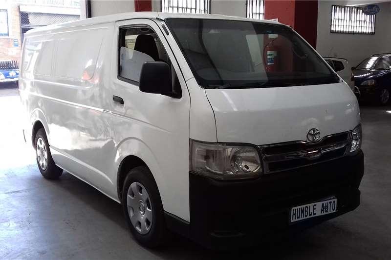 Toyota Quantum 2.7 panel van 2011