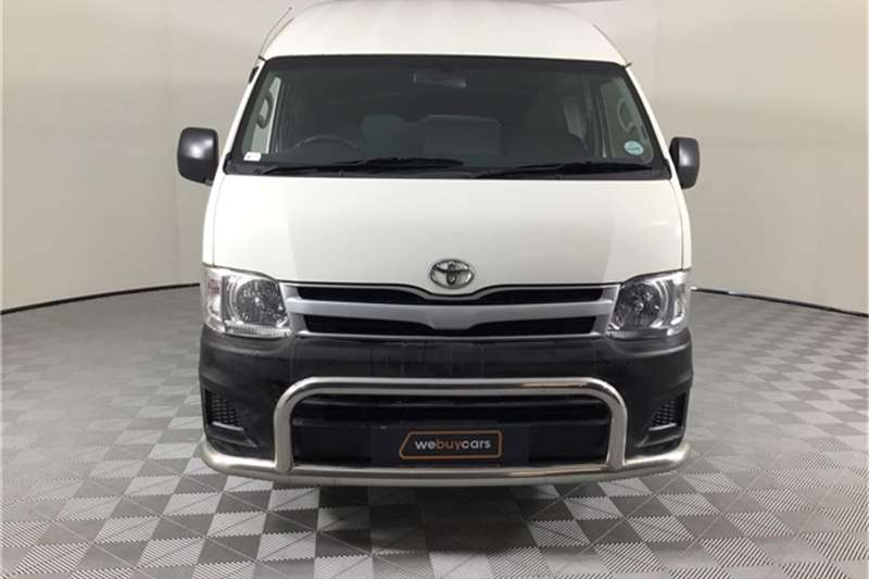 Toyota Quantum 2.7 S Long panel van 2014