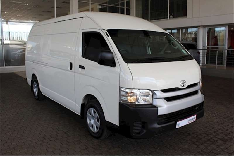 2018 Toyota Quantum 2.5D 4D S Long panel van