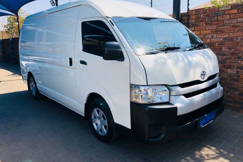 2014 Toyota Quantum 2.5D 4D S Long panel van