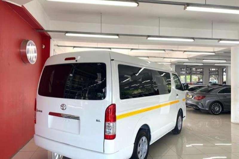 2018 Toyota Quantum 2.5D 4D GL 10 seater bus