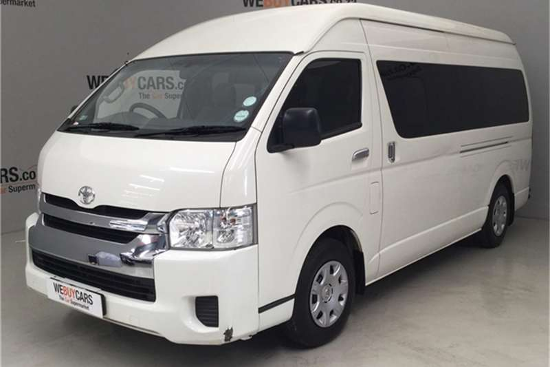 2015 Toyota Quantum 2.7 GL 14 seater bus
