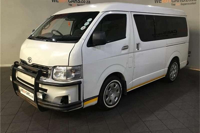 2013 Toyota Quantum 2.7 GL 10 seater bus