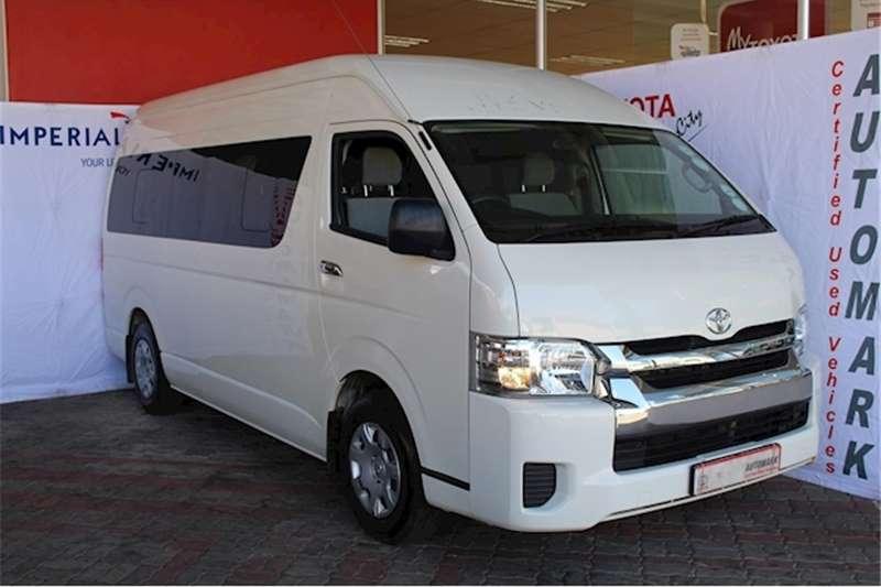 2017 Toyota Quantum 2.5D 4D GL 14 seater bus