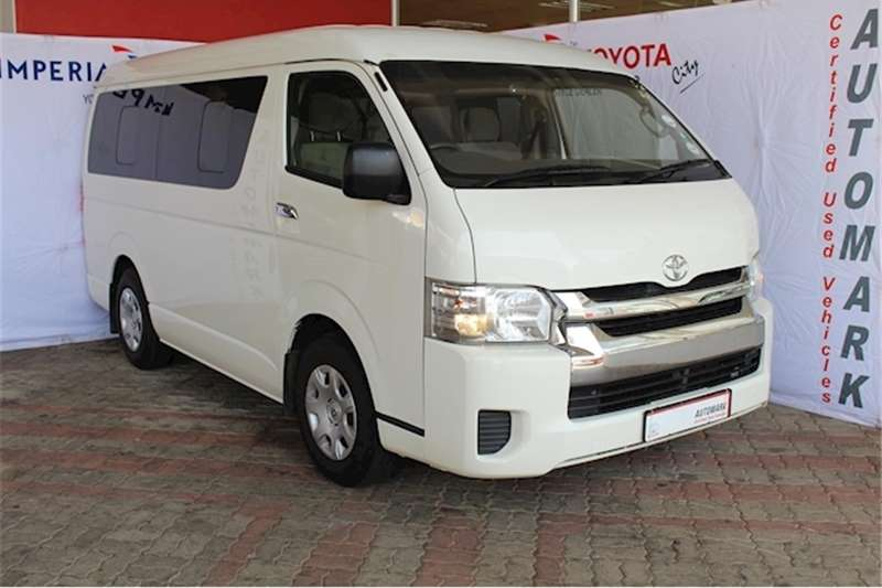 2019 Toyota Quantum 2.5D 4D GL 10 seater bus