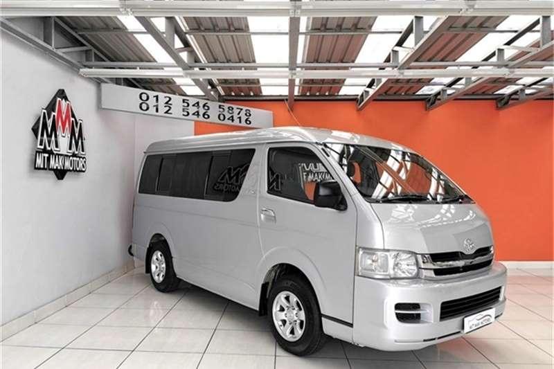2007 Toyota Quantum 2.7 GL 10 seater bus