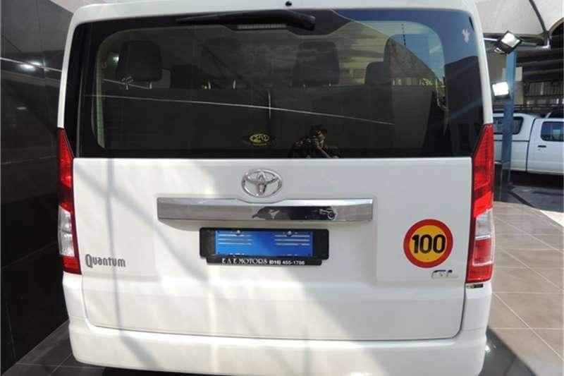 2019 Toyota Quantum LWB bus QUANTUM 2.8 GL 11 SEAT