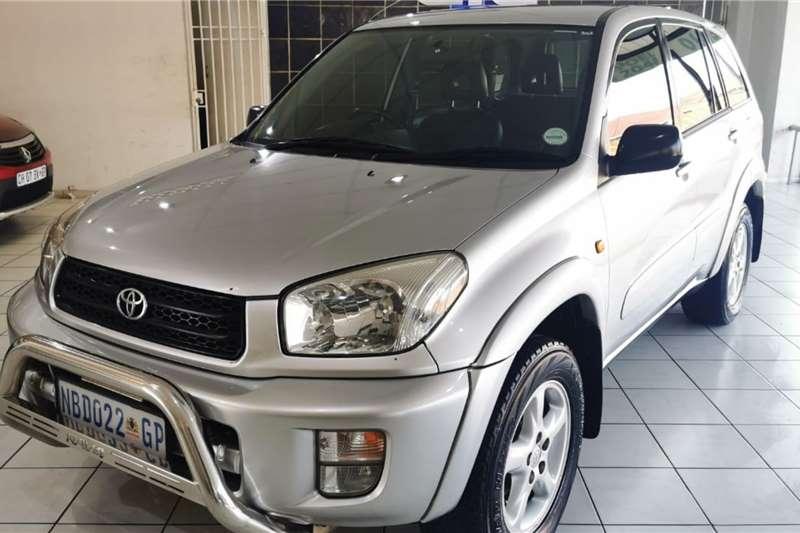 Toyota Rav4 2.0 5dr 2001