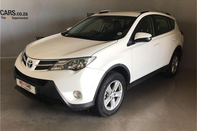 Toyota Rav4 2.2D 4D AWD GX 2014