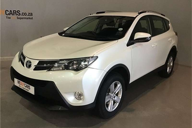 Toyota Rav4 2.2D 4D GX 2013