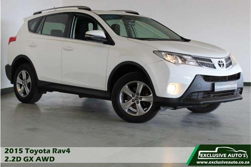 2015 Toyota Rav4 RAV4 2.2D 4D AWD GX