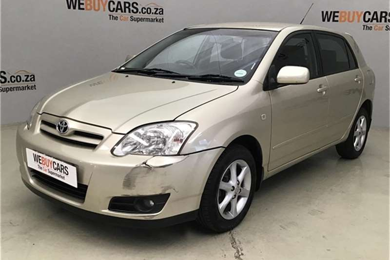 2005 Toyota RunX 180 RX