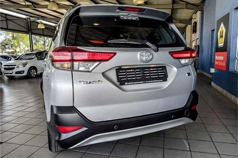 Used 2018 Toyota Rush RUSH 1.5 A/T