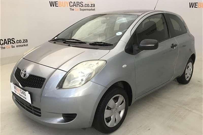 Toyota Yaris 1.0 3 door T1 (aircon+CD) 2007