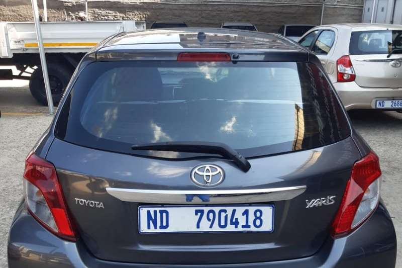 2014 Toyota Yaris Yaris 1.0 3-door T1 (aircon+CD)