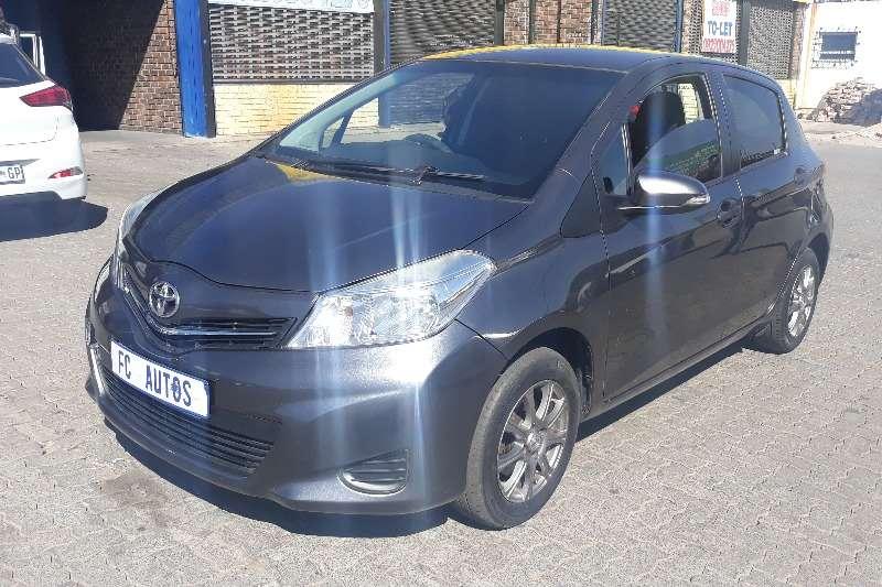 Used 2012 Toyota Yaris 1.3