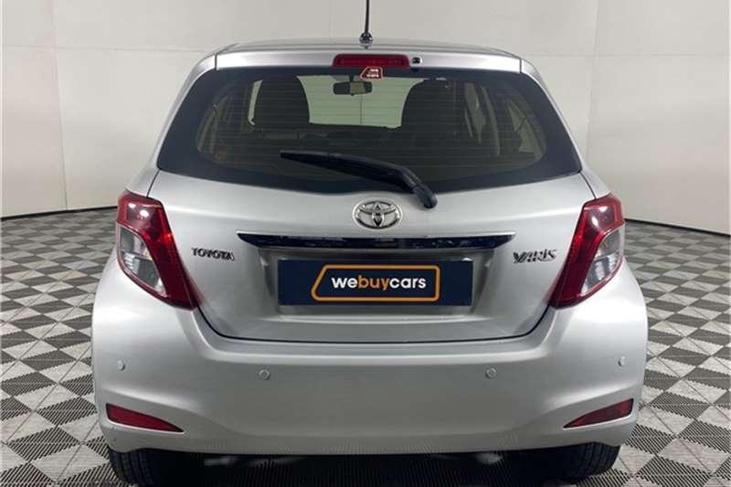Used 2014 Toyota Yaris 1.3