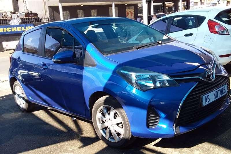 Used 2015 Toyota Yaris 1.3