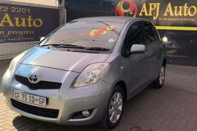 Toyota Yaris 1.3 5 door T3+ 2012