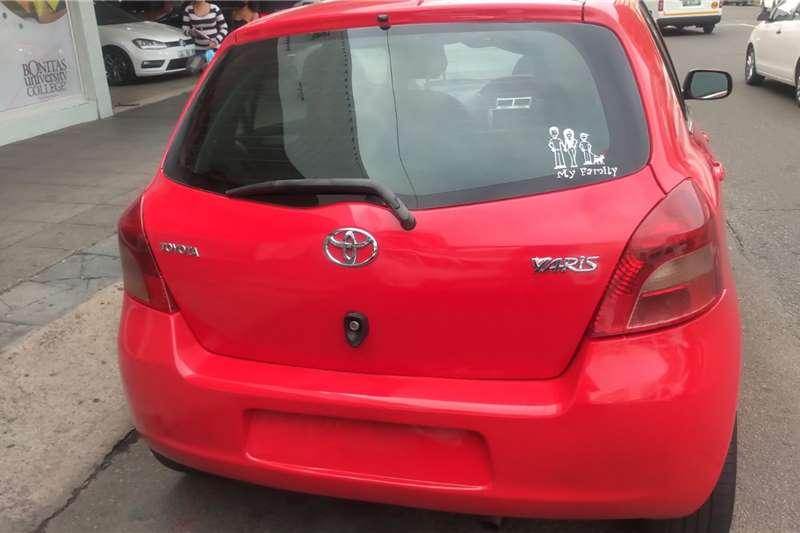 Toyota Yaris 1.3 5-door T3+ 2012