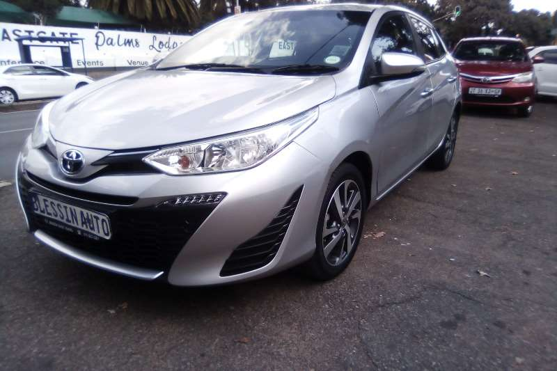 Toyota Yaris 1.3 T3+ 5 door automatic 2018