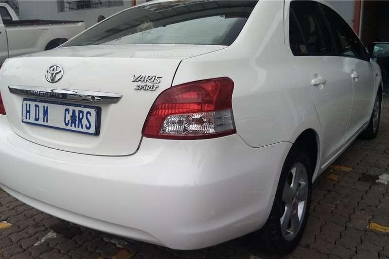 Used 2008 Toyota Yaris 1.3 T3 Spirit sedan