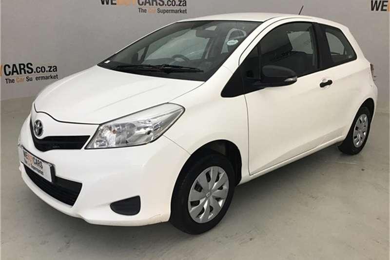 Toyota Yaris 3 door 1.0 Xi 2012