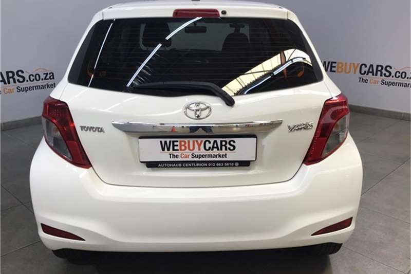 Toyota Yaris 3 door 1.0 Xi 2013