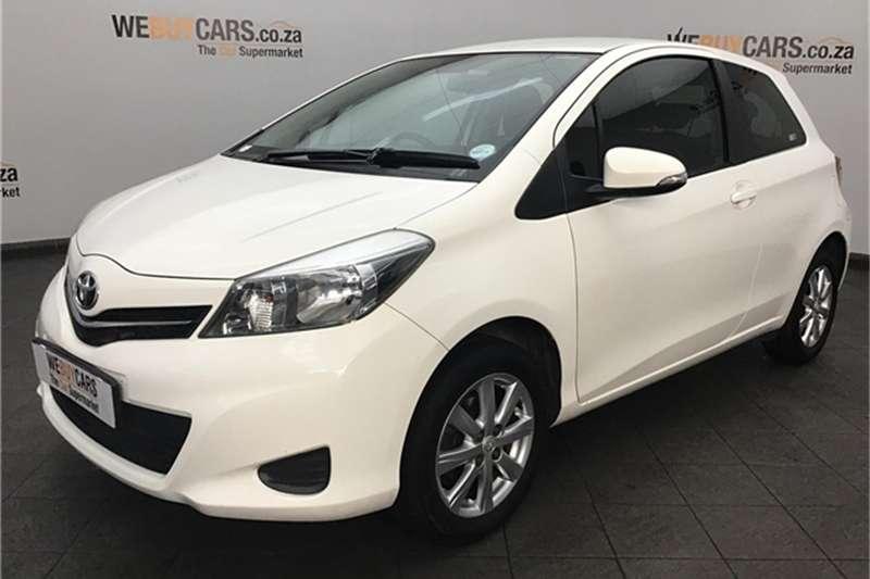 Toyota Yaris 3 door 1.0 XS 2012