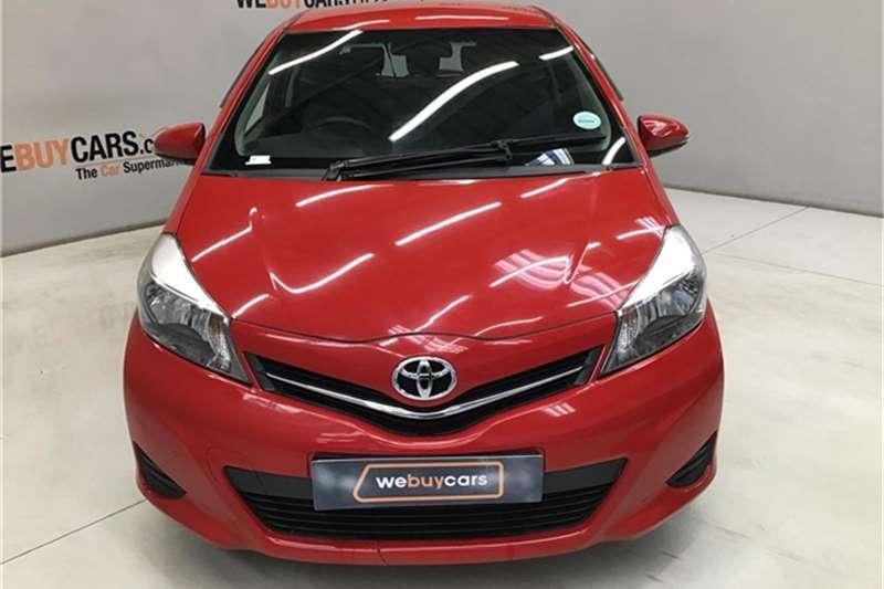 Toyota Yaris 3-door 1.0 XS 2012