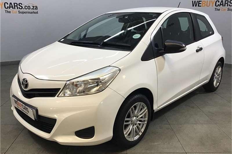 Toyota Yaris 3-door 1.3 Xi 2013
