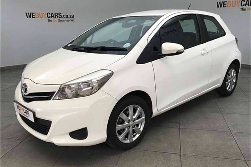 Toyota Yaris 3 door 1.3 XS 2012