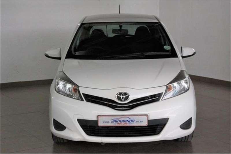 Toyota Yaris 3 door 1.3 XS 2012