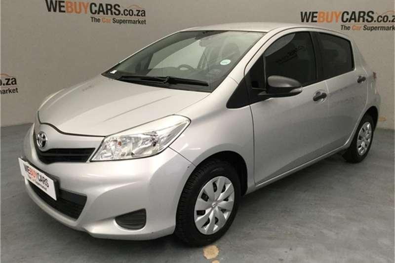 Toyota Yaris 5 door 1.0 XR 2012