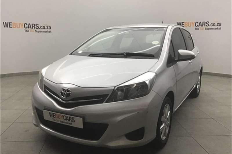 Toyota Yaris 5 door 1.0 XS 2014