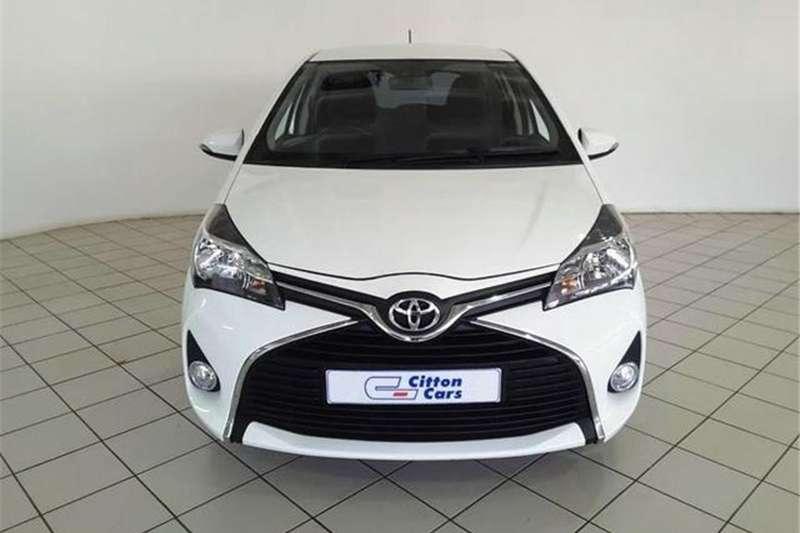 Toyota Yaris 5 door 1.0 XS 2016