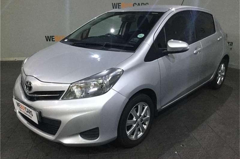 Toyota Yaris 5 door 1.3 Xi 2013